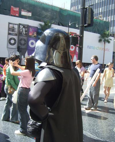 Darth Vader en el Paseo