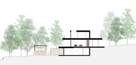 Arquitectura Alzado Casa