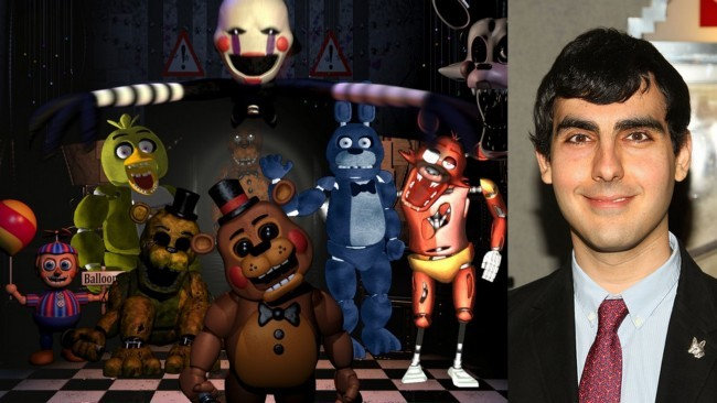 Five Nights At Freddy's y Gil Kenan