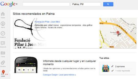 Google Local reemplazará a Google Place para facilitar las recomendaciones locales
