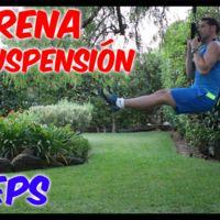 Vídeo-entrenamiento en suspensión (VII): Bíceps