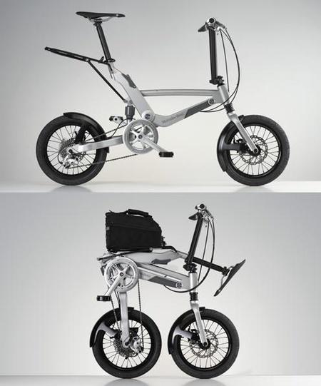Folding Bike Mercedes-Benz, la bicicleta plegable que cabe en tu maletero