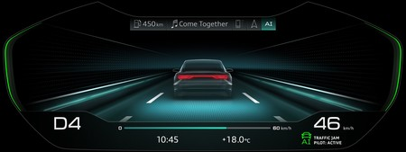Audi A8 2018 Ai Traffic Jam Assist 7