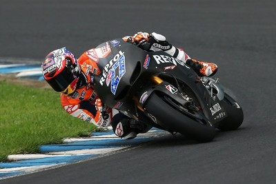 La lluvia desluce el reencuentro de Casey Stoner sobre la MotoGP