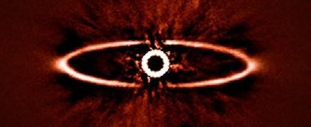 No es el ojo de Sauron, sino la primera imagen de una cámara para fotografiar exoplanetas