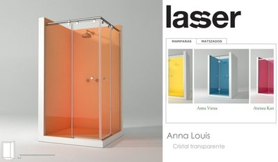 Configurador de mamparas 3D de Lasser