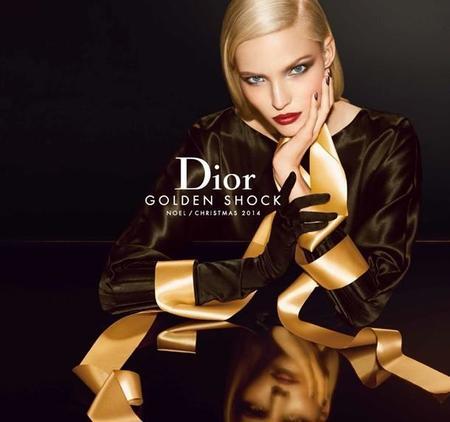 Dior se vuelve dorado, muy dorado esta Navidad