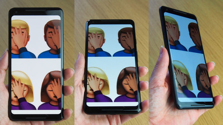 No todos los Pixel 2 XL tienen el problema de la pantalla con ángulos de visión azulados
