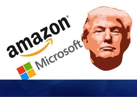 Un polémico y multimillonario contrato militar enfrenta a Amazon con Trump y Microsoft tanto en los medios como en los tribunales