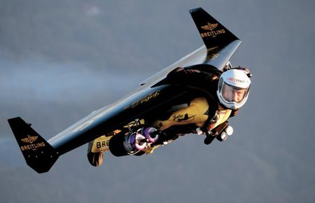 Es un pájaro, es un avión...no, es Jetman