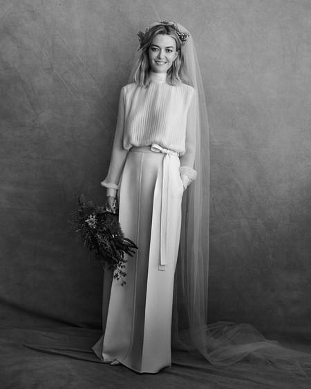 Vestido Marta Ortega boda