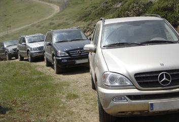 El exclusivo Club Mercedes Off-Road Adventure