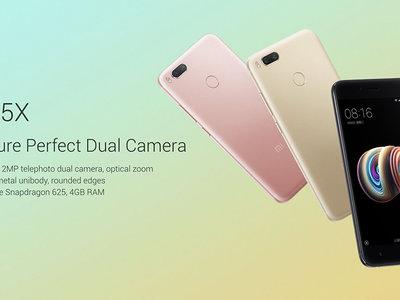 Oferta Flash: el nuevo Xiaomi Mi5X de 64GB por 221,54 euros y envío gratis en Geekbuying