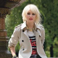Moda de otoño, por Taylor Momsen en Teen Vogue septiembre 2009