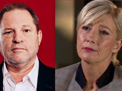 """""""Es la punta de un iceberg"""". Emma Thompson afirma que hay muchos más como Harvey Weinstein en Hollywood"""