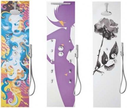 Llena tu ducha de color con los paneles de TEDA