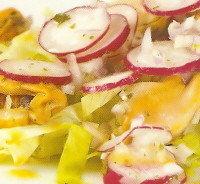 Ensalada con mejillones