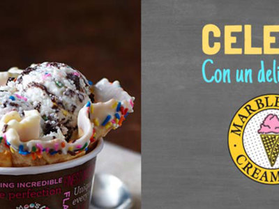 Llegan los helados de  Marble Slab Creamery a México