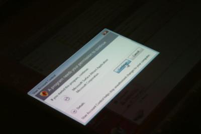 Imagen de la Semana: UAC en el Microsoft Surface