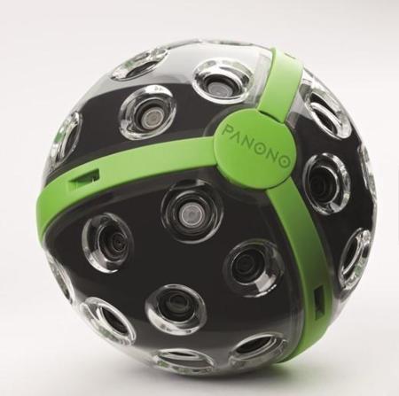 Panono, la bola que registra instantáneas esféricas