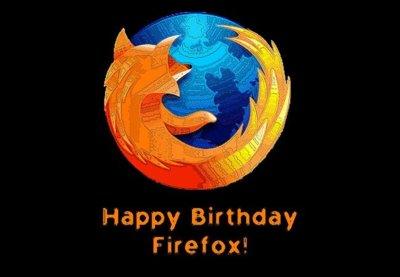 Imagen de la Semana: Firefox cumple 6 años