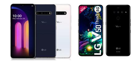 Del LG V50 ThinQ 5G al LG V60 ThinQ 5G: todo lo que ha cambiado en el buque insignia de la surcoreana