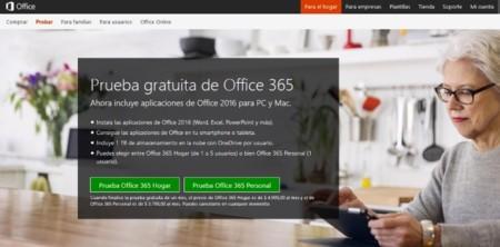 Office Prueba Gratuita