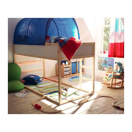 Cama reversible 'Kura' para que vuestro hijo decida si quiere dormir arriba o abajo