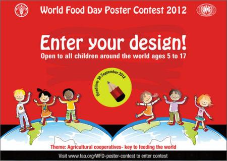 Los niños pueden saber más sobre hambre en el mundo, pensando a la vez en soluciones: concurso mundial de dibujo