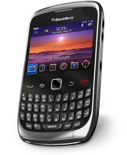 BlackBerry Curve 3G preparada para BlackBerry OS 6