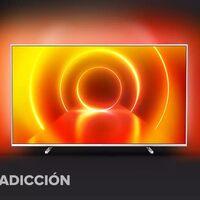 Una smart TV de gran diagonal con Ambilight como la Philips 58PUS7855/12 se puede comprar ahora a precio de chollo en El Corte Inglés: la tienes por 459 euros