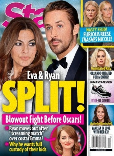 Eva Mendes y Ryan Gosling son historia
