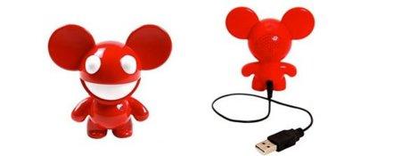 Deadmau5, altavoz para iPod y ratoncillo asesino