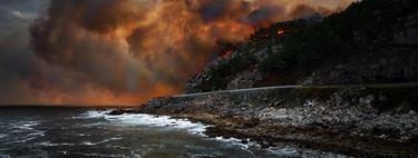 """El verdadero """"apocalipsis"""" no es el incendio, sino el tratamiento de la prensa de estas catástrofes"""