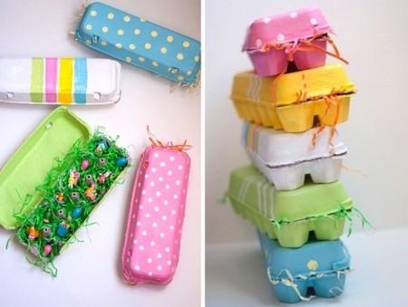 Cajas de huevos decoradas para guardar objetos y envolver for Cajas de carton pequenas decoradas