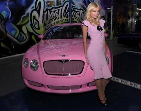 Coches de moda: los gustos de Paris Hilton