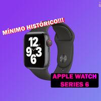 Apple Watch Series 6 GPS + Cellular de 44 mm a su precio mínimo en Amazon de 509 euros: llamar, mensajes y música sin iPhone
