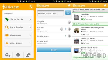 Hoteles.com para Android