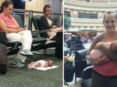 ¿Recuerdas a la madre que dejó a su bebé en el suelo para mirar el móvil? Sabemos por qué lo hizo