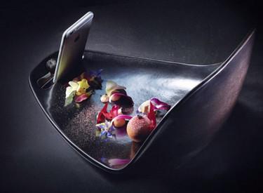 Platos diseñados para tomarle fotos a la comida