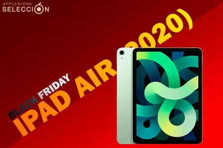 """Black Friday 2020: el iPad Air (2020) con nuevo diseño """"a lo Pro"""" está rebajado a su mínimo histórico en Amazon: 599 euros"""