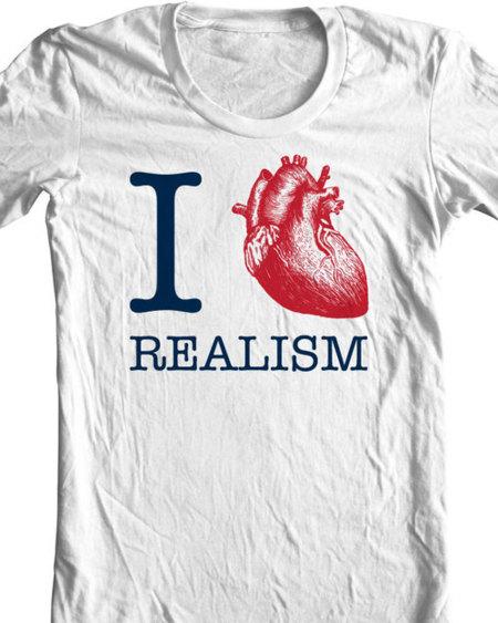 Camiseta I love realism