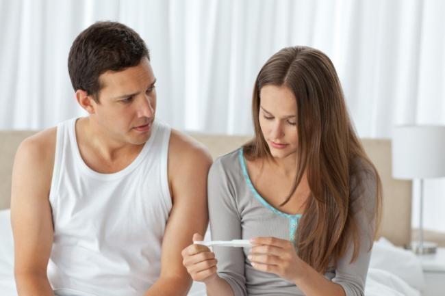Me hice el test de embarazo y salio negativo
