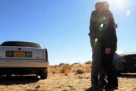 El abrazo de Walter White y Jesse Pinkman