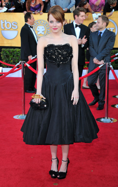 Emma Stone Screen Actors Guild Awards