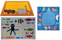 Alfombras infantiles con dibujos de animales