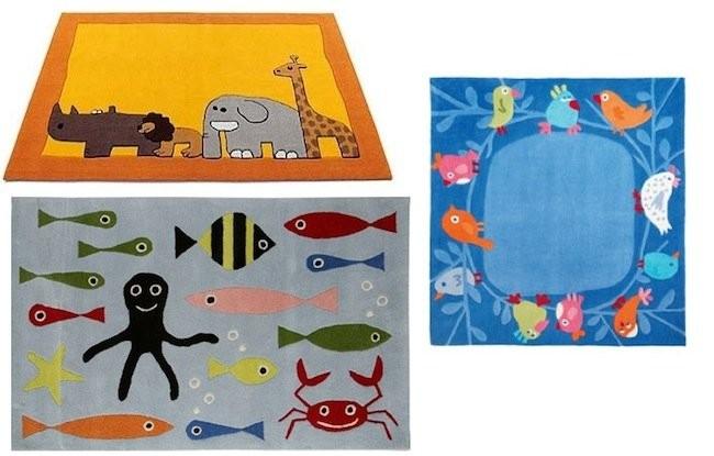 Alfombras infantiles con dibujos de animales for Dibujos para alfombras