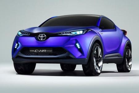 Toyota C-HR Concept, una pizca del futuro SUV de Toyota