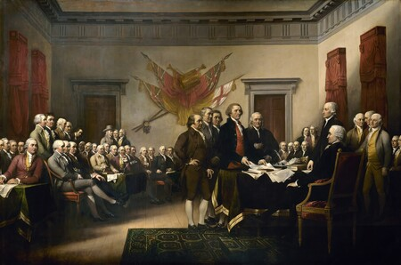 Declaration Of Independence 1819 By John Trumbull