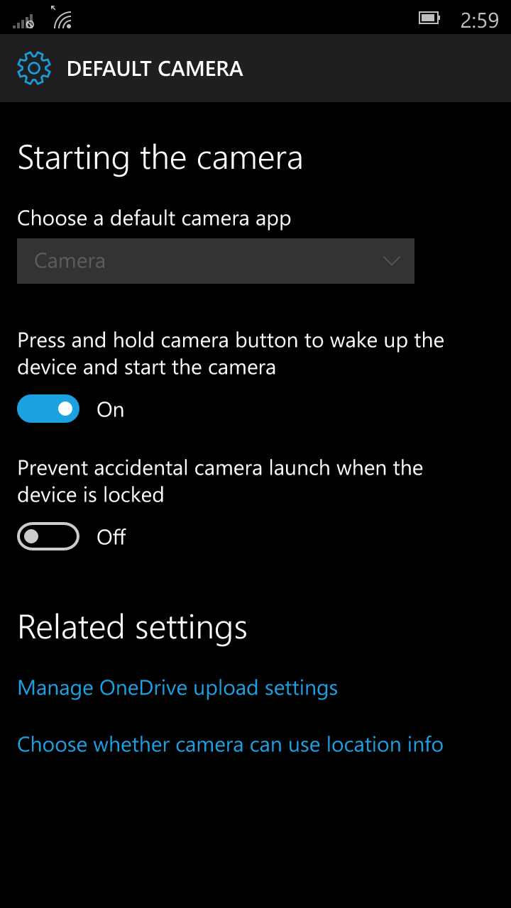 Foto de Windows 10 Mobile build 10136 (23/92)